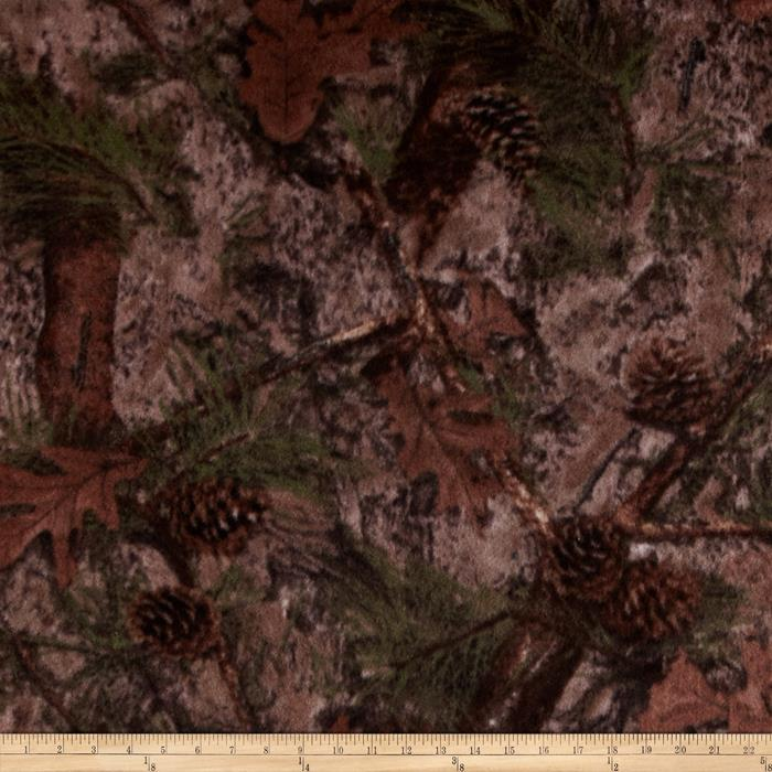 True Timber Fleece Mixed Pine Multi