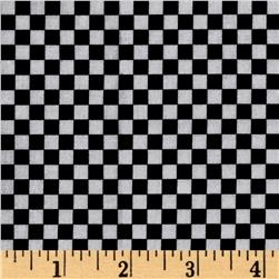 Loralie Designs Checkerboard Black White