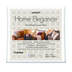 "Fairfield Home Elegance  Pillow 14"" Square"