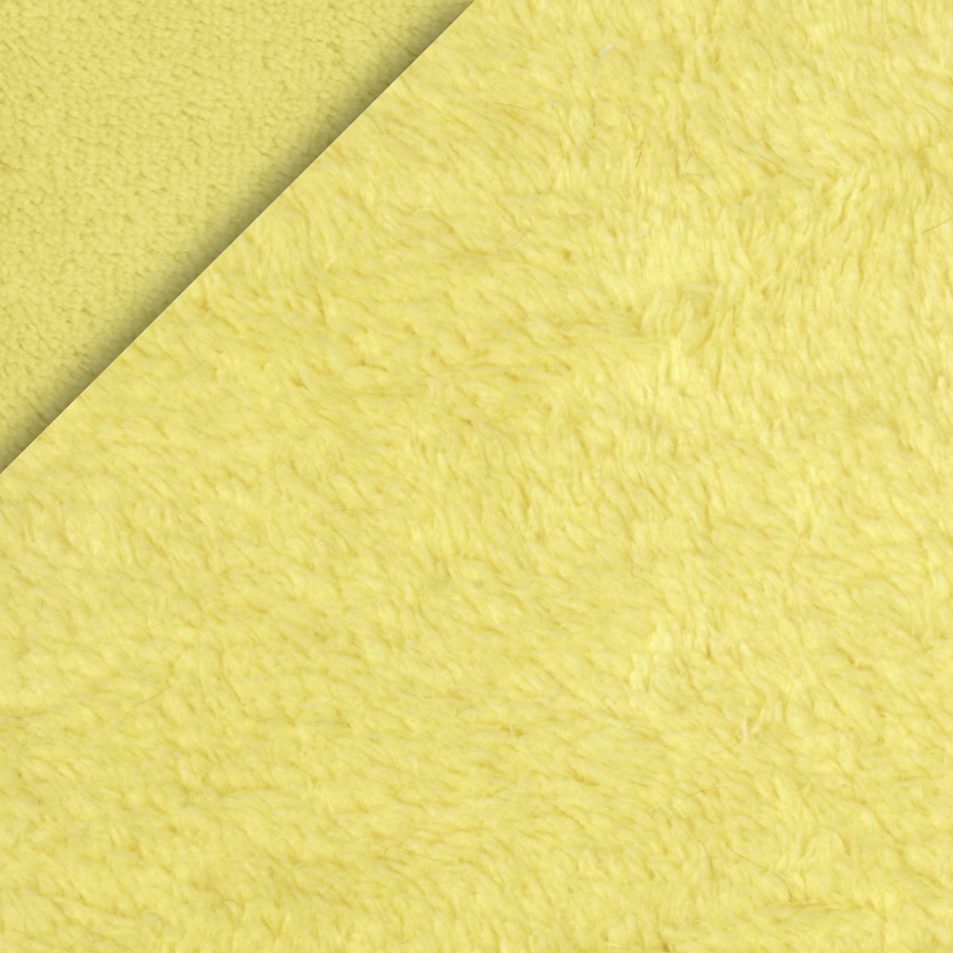 Double-Sided Minky Fleece Yellow