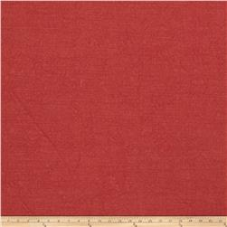 Fabricut Elements Linen Blend Crimson