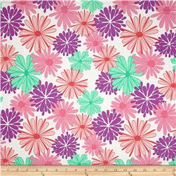 Riley Blake Floriography Large Floral Purple