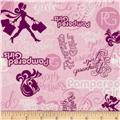 Pampered Girls Words Pink