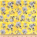 Soleil Small Floral Yellow