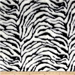 Michael Miller Zebra Fur White