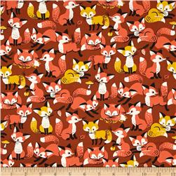 Animal Diary Foxes Brown