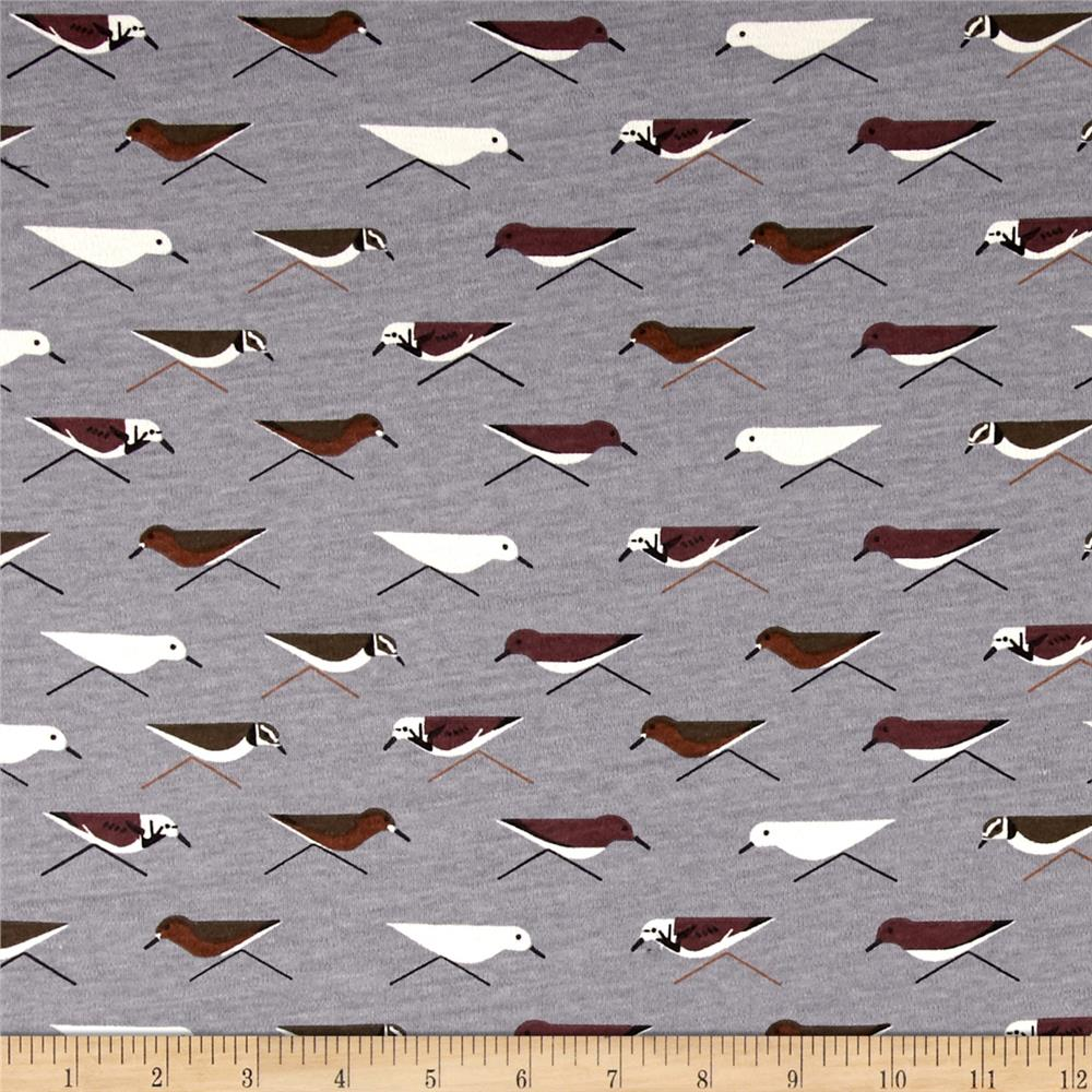 Birch Organic Maritime Interlock Knit Sanderlings Shroom