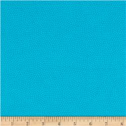 Timeless Treasures Flannel Spin Dot Turquoise