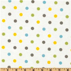 Cozy Cotton Flannel Polka Dot Multi