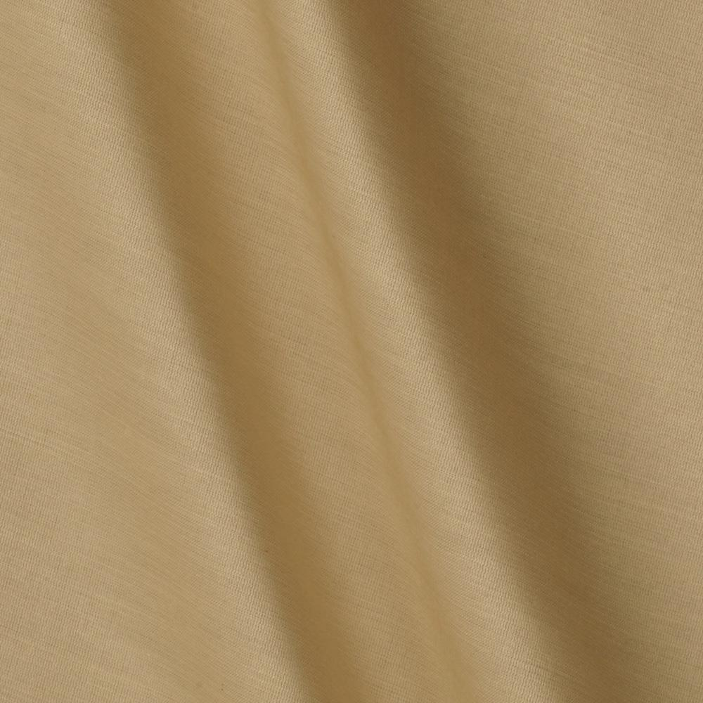 Kaufman Radiance Cotton/Silk Poplin Linen Tan
