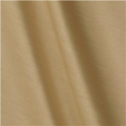 Kaufman Radiance Cotton/Silk Poplin Linen Tan Fabric