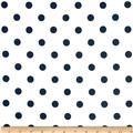Premier Prints Polka Dot White/Navy