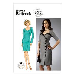 Butterick Misses' Dress Pattern B5953 Size A50