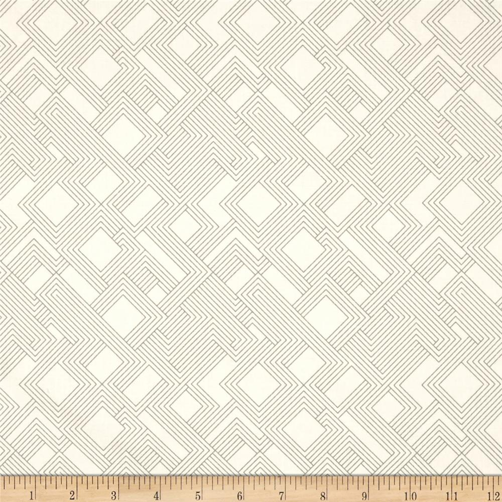 Kaufman Fragmental Gridwork Natural