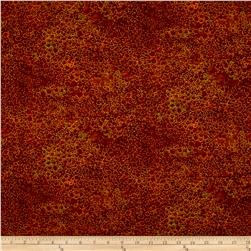 "Artisan Spirit Shimmer 108"" Wide Quilt Back Rust"