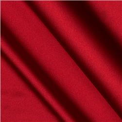 Stretch Charmeuse Satin Cherry Red