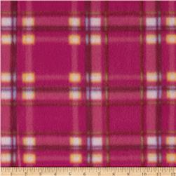 Fleece Plaid Pink/Purple