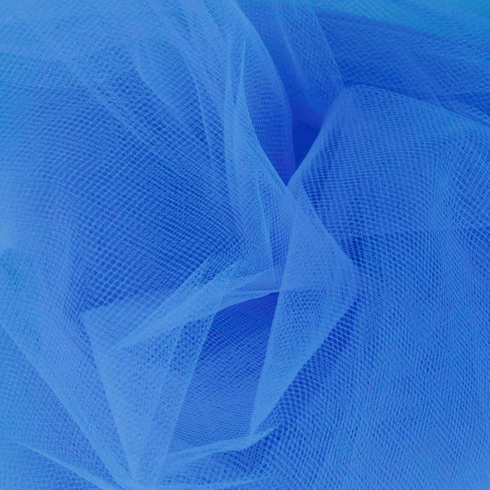 108'' Wide Nylon Tulle Turquoise