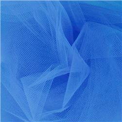 108'' Wide Nylon Tulle Turquoise Fabric