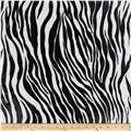 Oil Cloth Zebra Black