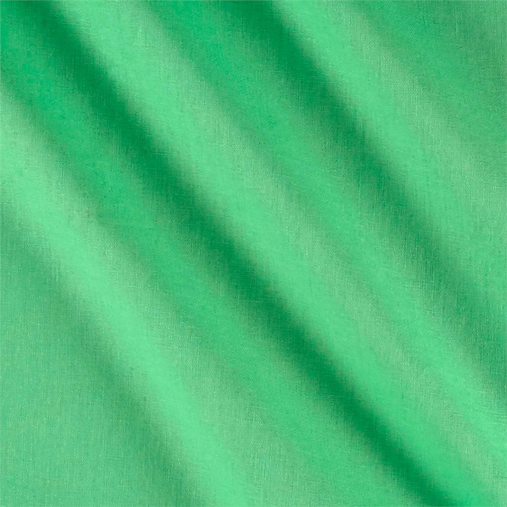 Kaufman Essex Linen Blend Jade Fabric By The Yard