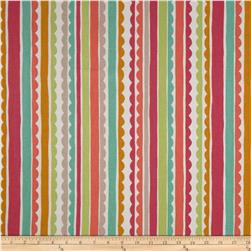 P Kaufmann Saray Stripe Cotton Candy Fabric