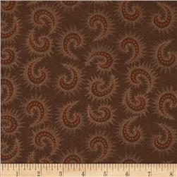 Heritage Hollow Star Paisley Brown