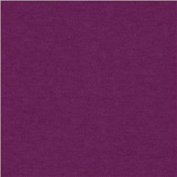 Stretch Jersey Knit Solid Pearly Purple