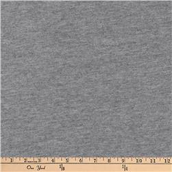 Kaufman Dana Jersey Knit Heather 4.8 oz Heather Coal