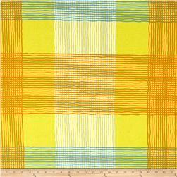 Jane Sassaman Cool Breeze Plaid Yellow