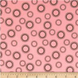 Cozy Cotton Flannel Geo Dots Garden