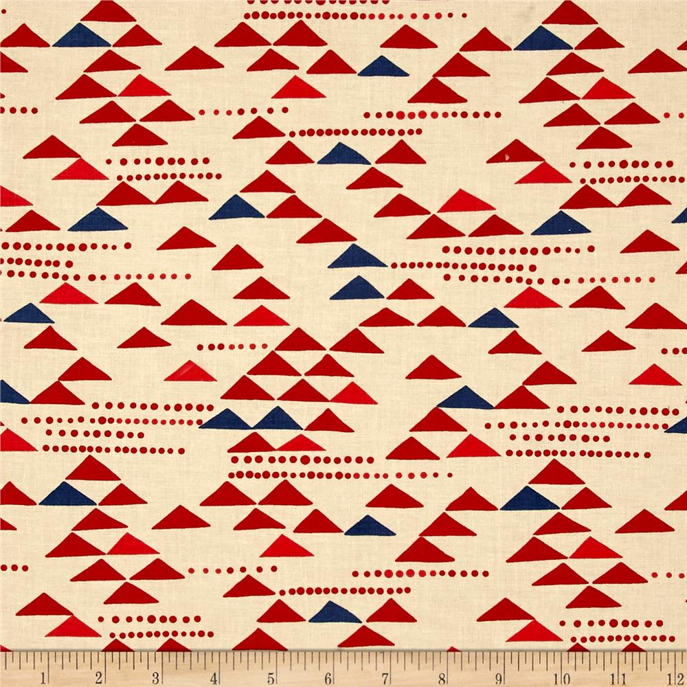 Alexander Henry Indochine Kiki Kaku Red/Blue