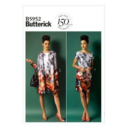 Butterick Misses' Jacket, Belt and Dress Pattern B5952 Size B50