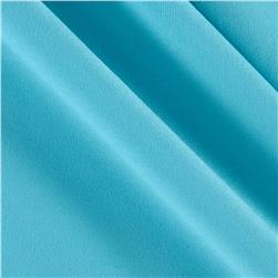 Brushed Polyester/Spandex Athletic Jersey Knit Cool Turquoise