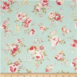 Lecien Rococo Sweet Small Floral Green