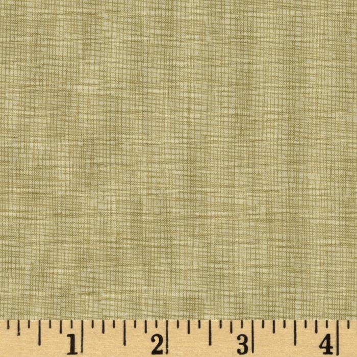 Timeless Treasures Sketch Linen Tan