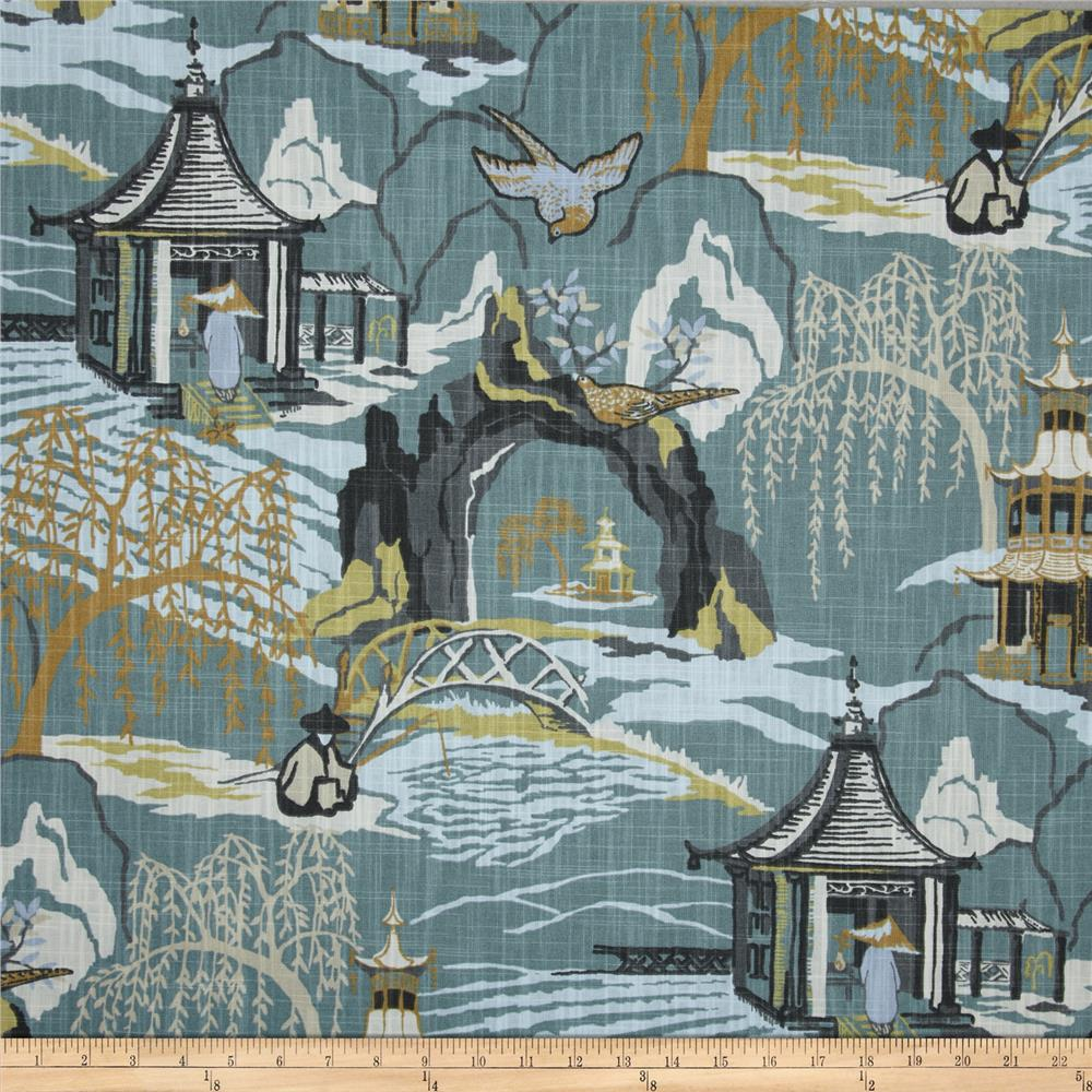 Robert Allen @ Home Neo Toile Cove