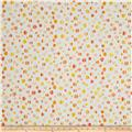 Kanvas Patio Splash Rainbow Dot Cream