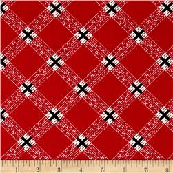 Windsong Plaid Red