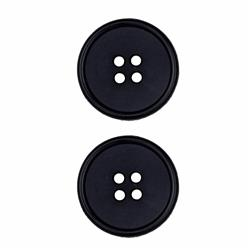 Dill Buttons 1'' Polyamid Button Navy