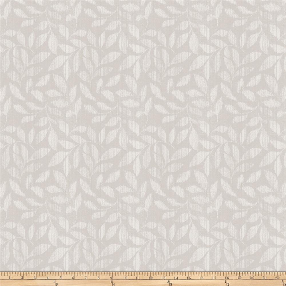 Trend 03157 Jacquard Leaves Silver