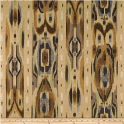 Contempo Hand Made Faux Linen Ikat Smoke