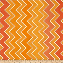 Riley Blake Medium Shaded Chevron Blaze