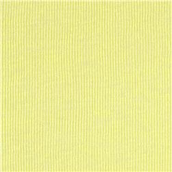 Tissue Baby Rib Knit Light Yellow