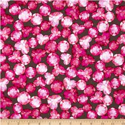 Love's All Around Heart Gems Brown/Red Fabric