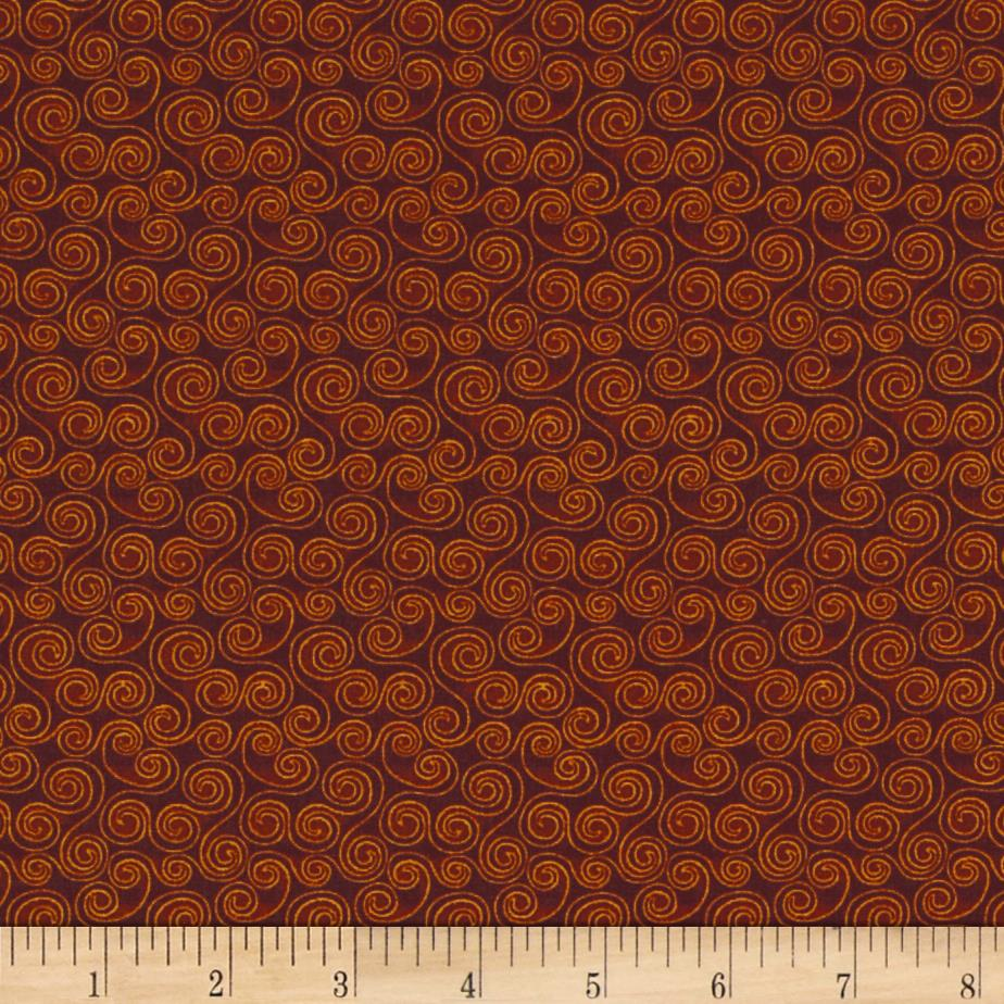 Harvest Song Scroll Russet