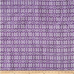 Indian Batik Montego Bay Patchwork  Purple/Silver