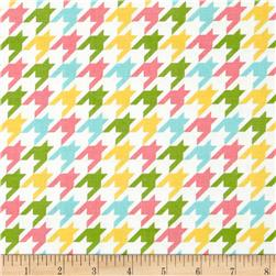 Riley Blake Medium Houndstooth Girl Fabric