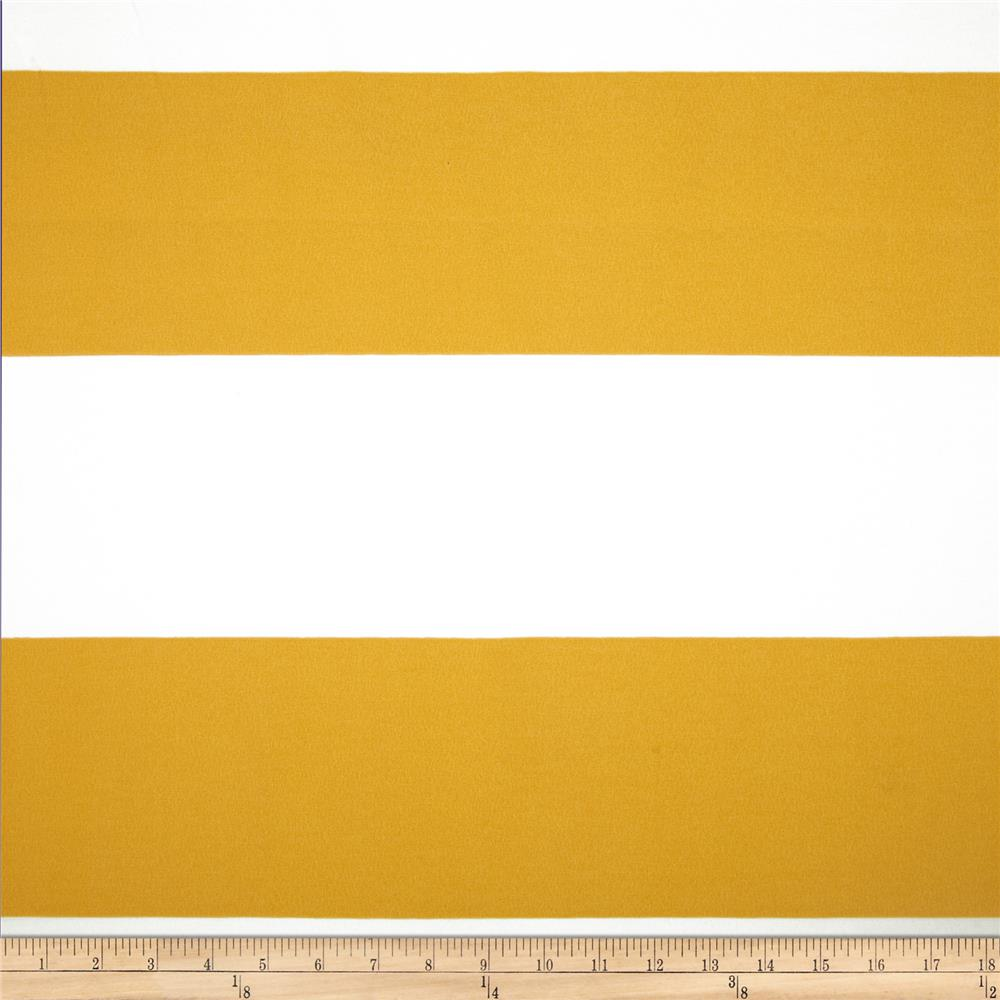 Premier Prints Indoor/Outdoor Cabana Stripe Citrus Yellow