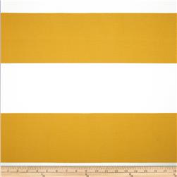Premier Prints Indoor/Outdoor Cabana Stripe Citrus Yellow Fabric